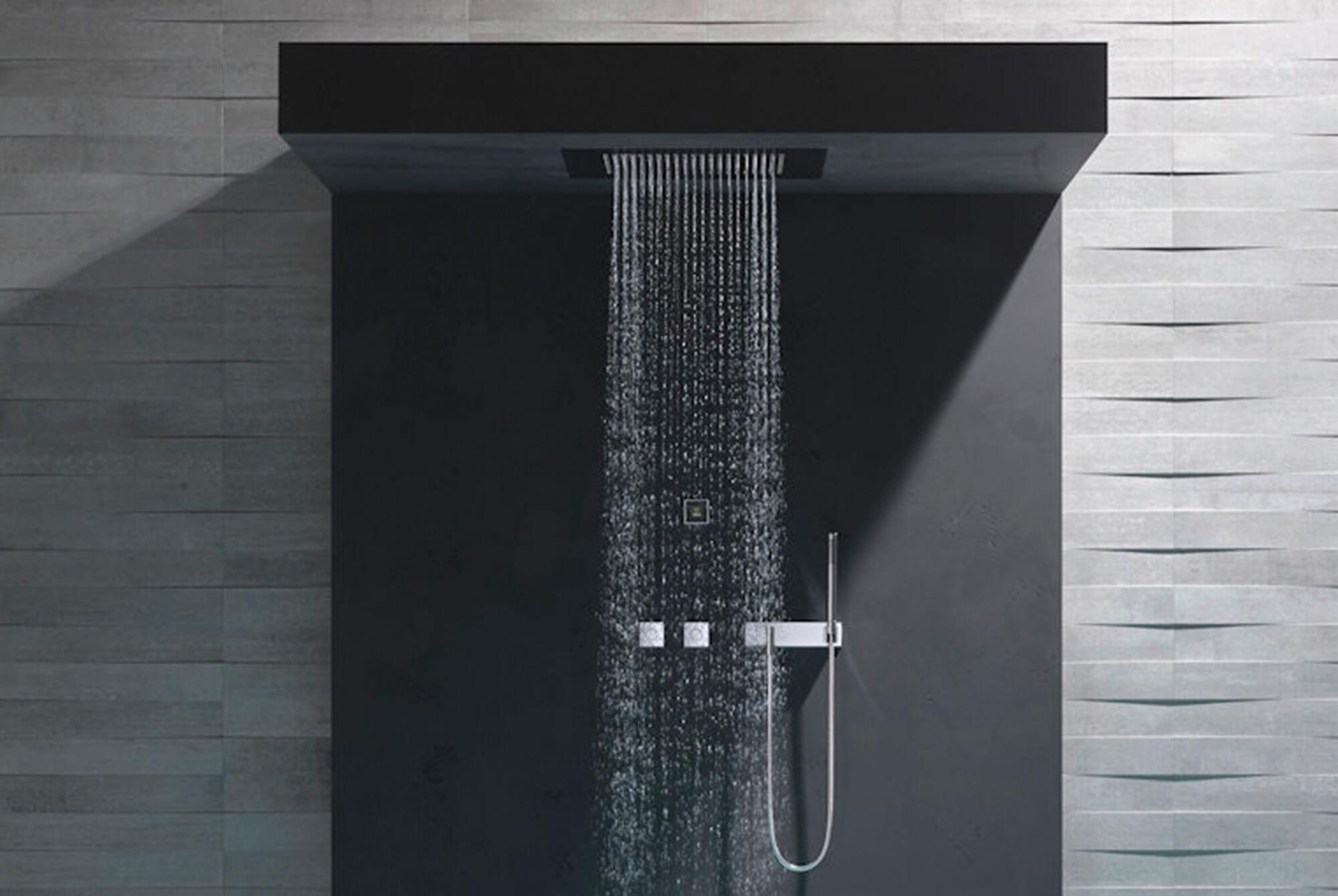 Duschen wie im Regen unter freiem Himmel