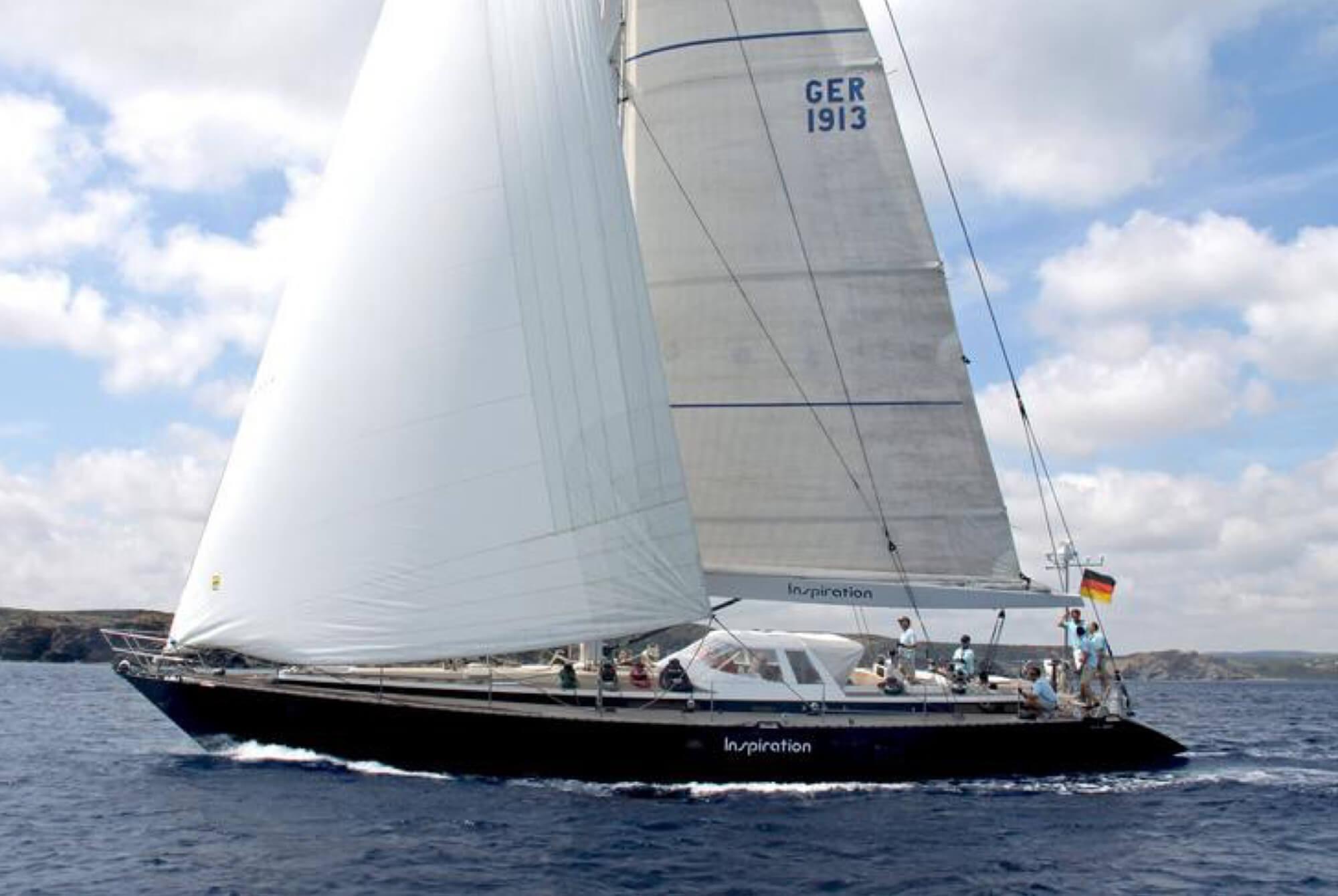 """Arne Schmidt Yachts listet die ikonische Yacht """"Inspiration"""""""